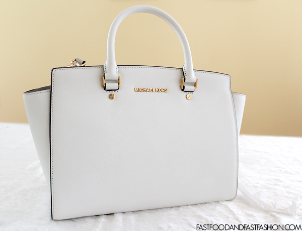 d55d39d47e95 Review  MICHAEL by Michael Kors Selma Large East West Satchel - Elle ...