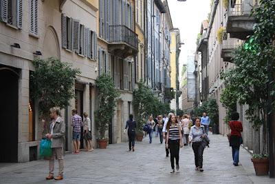 Via della Spiga in Milano