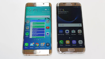 So sanh galaxy s6 edge+ va galaxy s7 edge