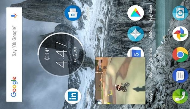 How to use PIP (Picture In Picture) in android oreo