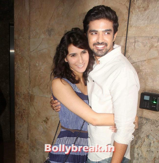 Pragya Yadav and Saqib Saleem, Huma Qureshi & Others at Hawaa Hawaai Special Screening at Lightbox