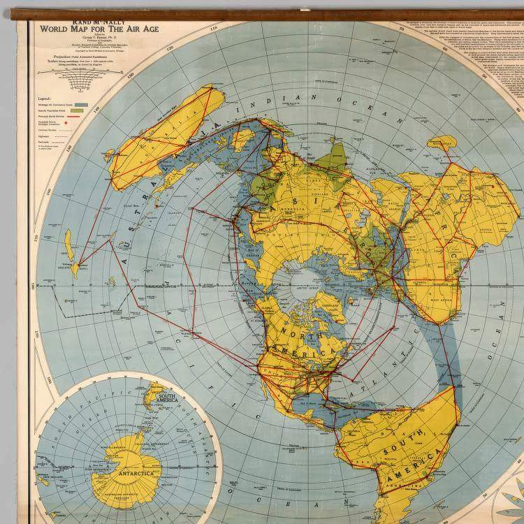 Philip stallings the biblical flat earth a response to got questions here is a short video which demonstrates how the compass points work on the equidistant azimuthal maps which has been used for sea and air navigation and is gumiabroncs Gallery
