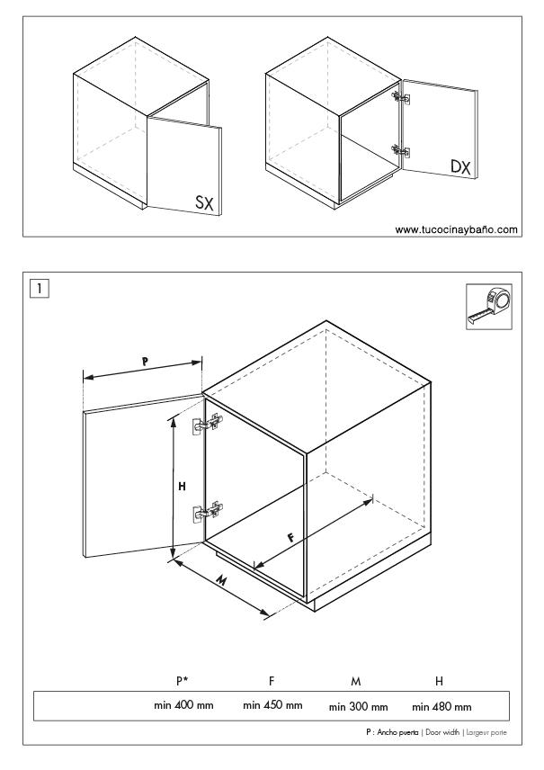 Cubo basura 32135322300 tu cocina y ba o - Cubo basura extraible ...