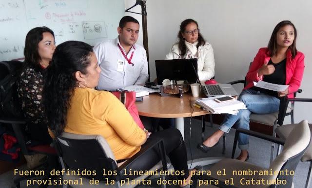 En Bogotá, definen lineamientos para la provisión de cargos directivos y docentes del Catatumbo en Norte de Santander #RSY #OngCF #CFNnoticias