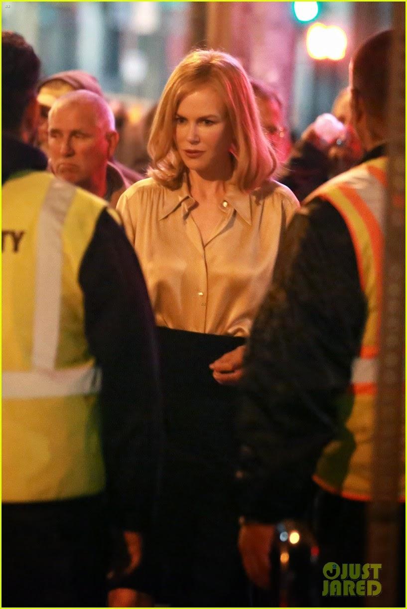 Silk Meeting In My Bedroom: Ladies In Satin Blouses: Nicole Kidman