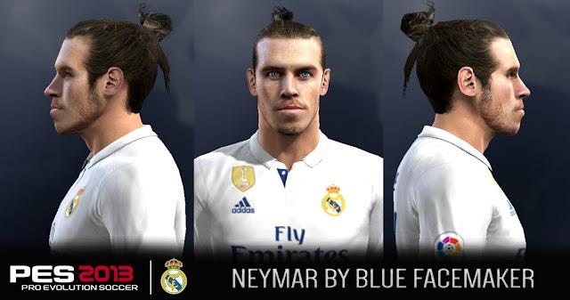 PES 2013 Bale face By Blue FM