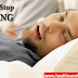 How To Stop Snoring to Improve Your Health, what causes of snoring, health care tips online
