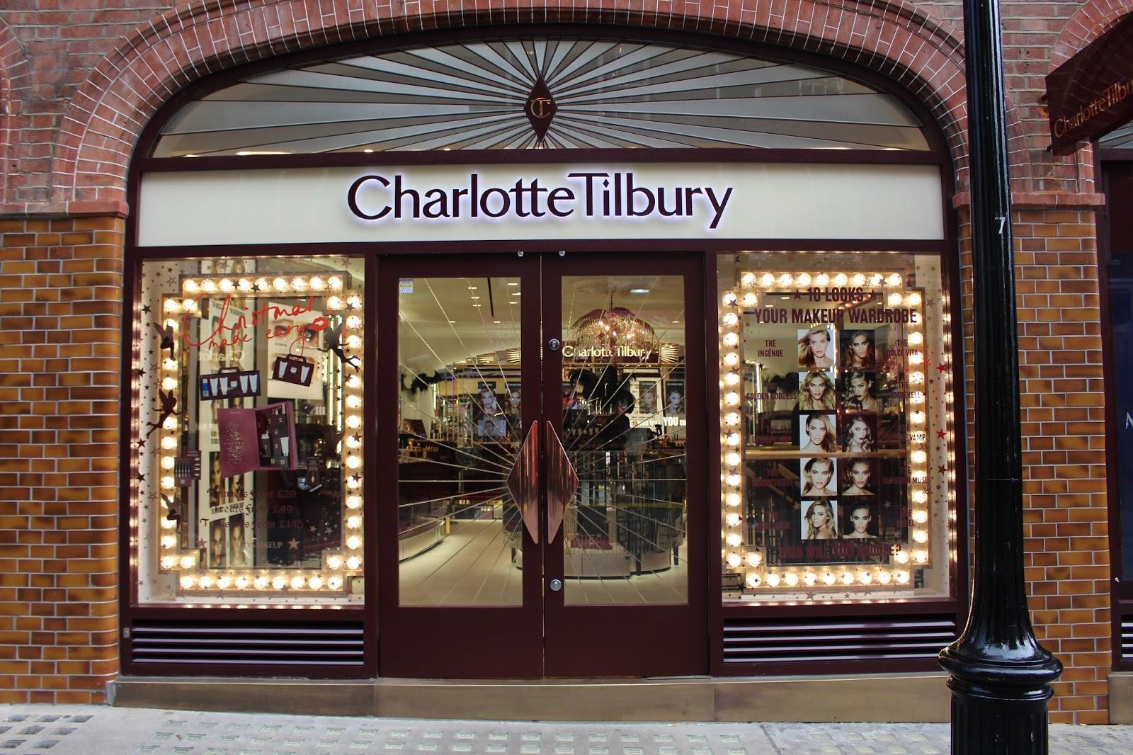Wednesday Ramblings Charlotte Tilbury Covent Garden Store Bamblingsofnaffy