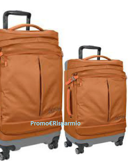 Logo Vinci gratis trolley Vaude e weekend