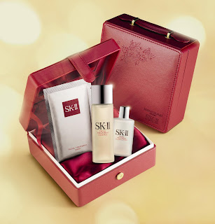 sk-ii christmas gift set, miracle water, treatment essence