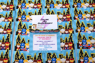 superhero invitations, supergirl invitations, avenger party, batman, superman,