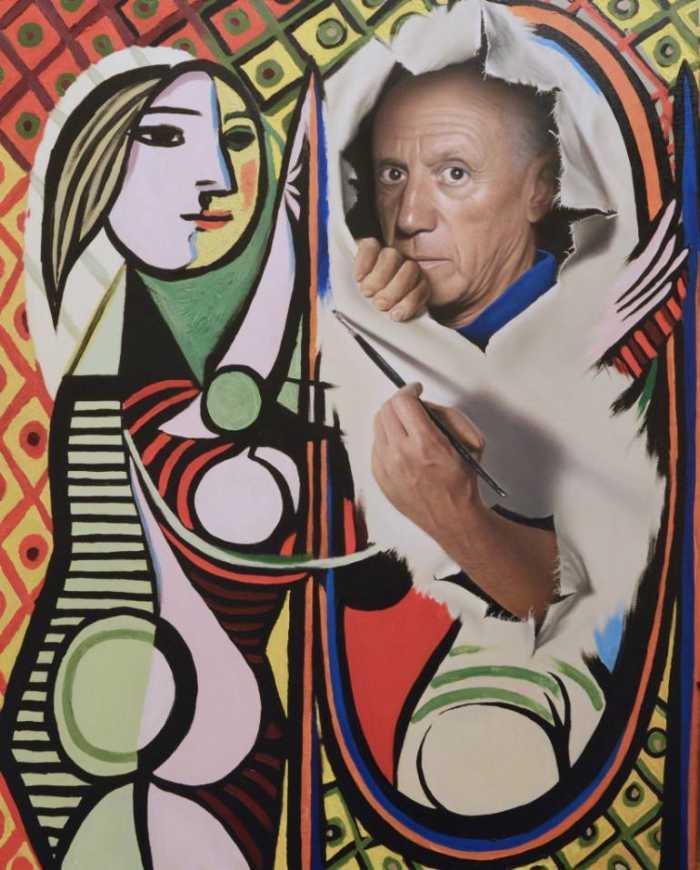 Портреты маслом. Peter Perlegas