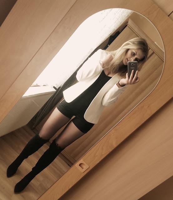 outfit, kozaki