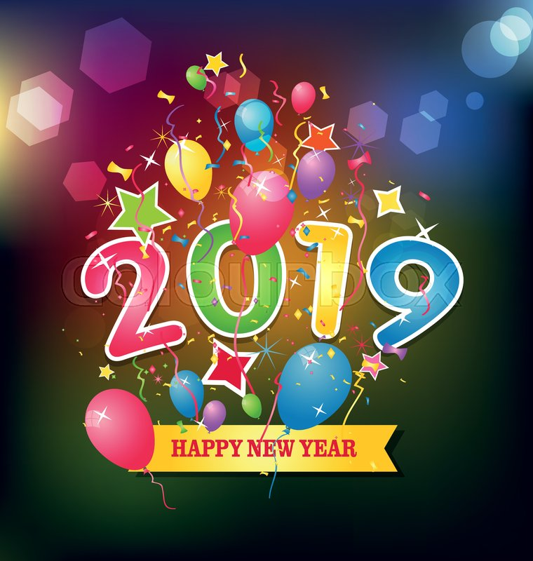 New Year 2019 Vectors, Photos and PSD files | Free Download