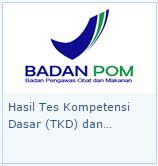Pengumuman Hasil TKD CPNS BPOM 2014