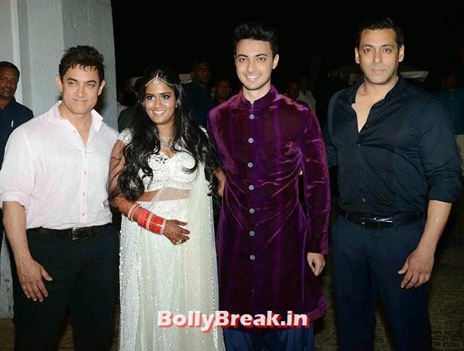 Aamir Khan, Arpita Khan, Ayush Sharma, Salman Khan