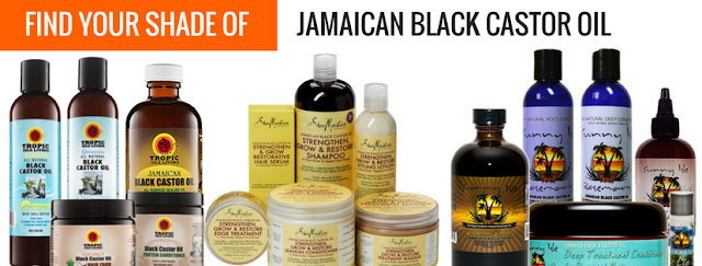 Jamaican Black Castor Oil at AfroDeity