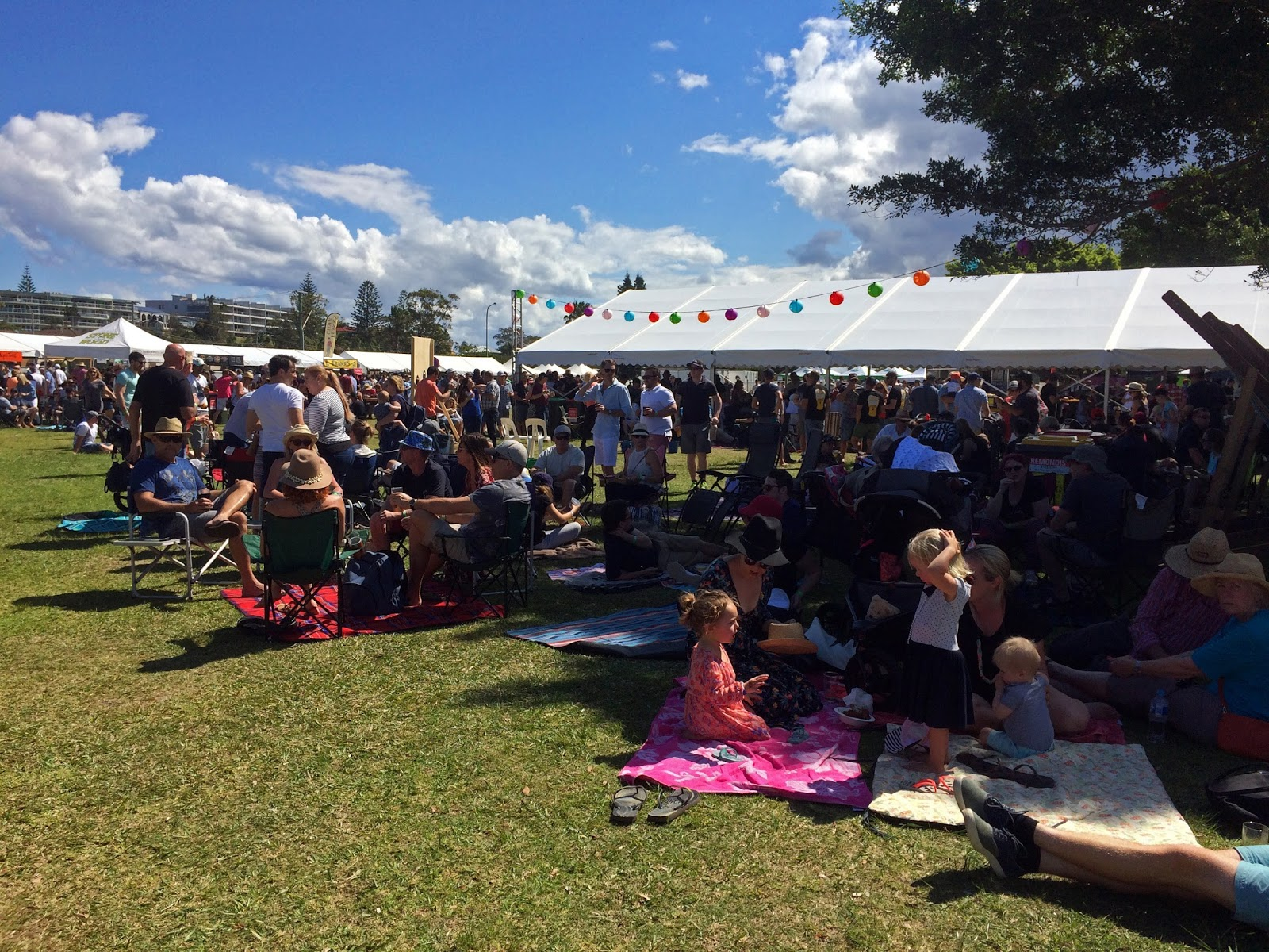 Port Macquarie Beer and Cider Festival Crowds