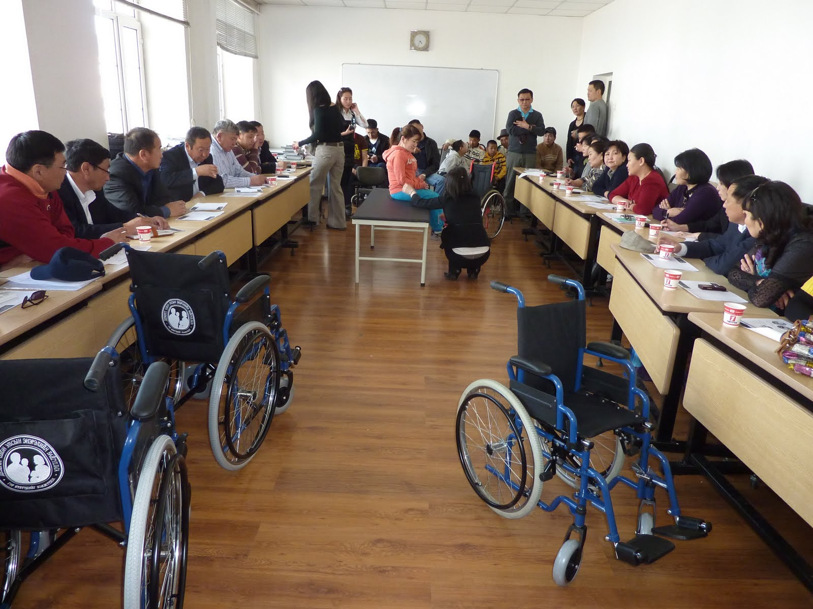 Wheelchair Project Rocking Chair Pad Sets Making Memories In Mongolia Deseret International