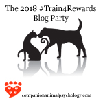 Add your pet's photo to the #Train4Rewards blog party