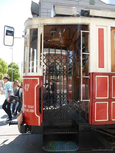 Istanbulská historická električka, Turecko