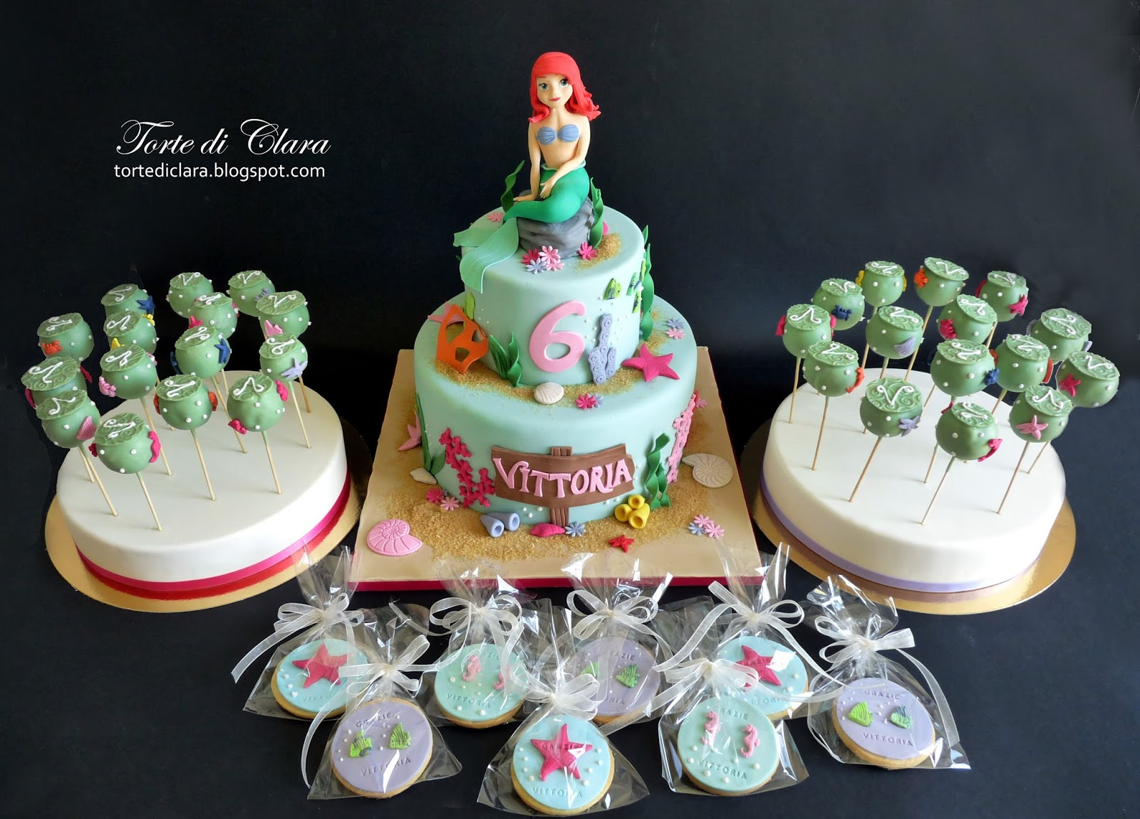 Torte di Clara: Ariel cake