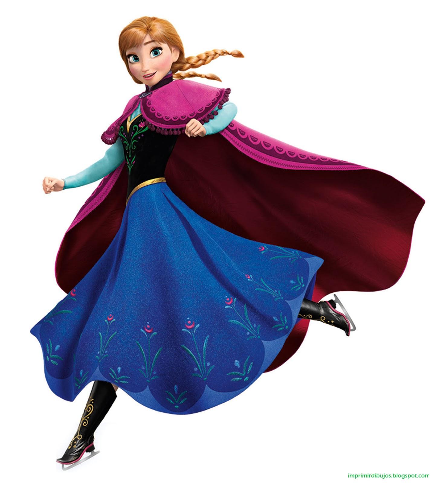 Imprimir Dibujos: Personajes de Frozen - El Reino del ...