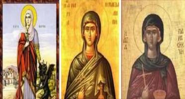 Кристина Павловић Рајић | ТРИПТИХОН ЛЕТЊИМ СВЕТИТЕЉКАМА