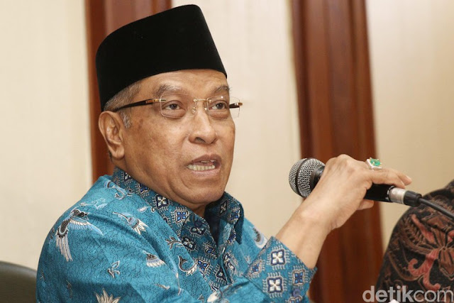 Said Aqil: Pendapat Mayoritas Ulama, Makruh Tulis Alquran di Bendera