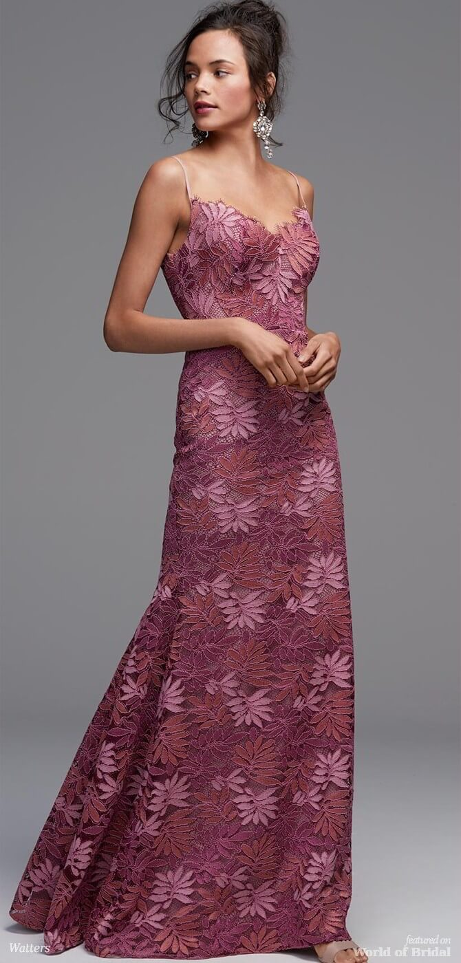 Watters Lace Bridesmaid Dress Image collections - Braidsmaid Dress ...