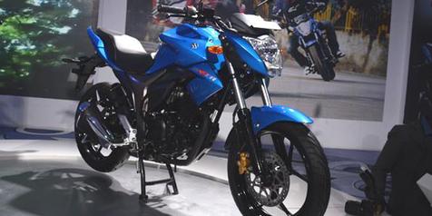 Bocor! Brosur Suzuki Naked Sport 150 CC 'Gixxer