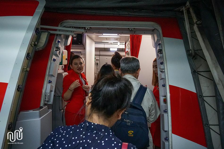 รีวิว airasia XJ 620 ไป Sapporo