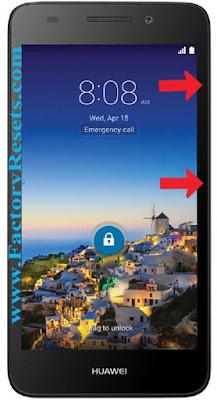 Hard Reset Huawei SnapTo G620