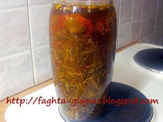 Λάδι Καλέντουλας - παρασκευή και χρήση ⇒ από «Τα φαγητά της γιαγιάς»