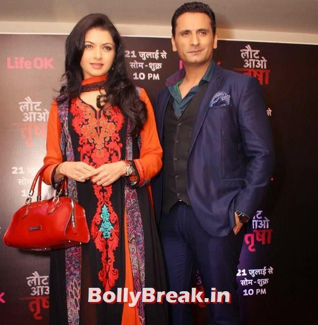 Bhagyashree and Jai Kalra, Bhagyashree Pics from Serial 'Laut Aao Trisha Serial' Promotion
