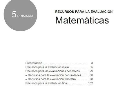 Más Que Apuntes Evaluación Matemáticas 5º Primaria