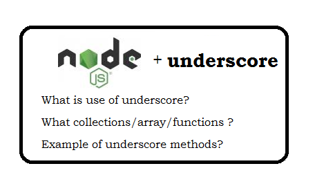node js underscore tutorial with examples
