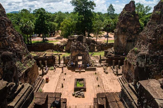 Vistas templos Camboya