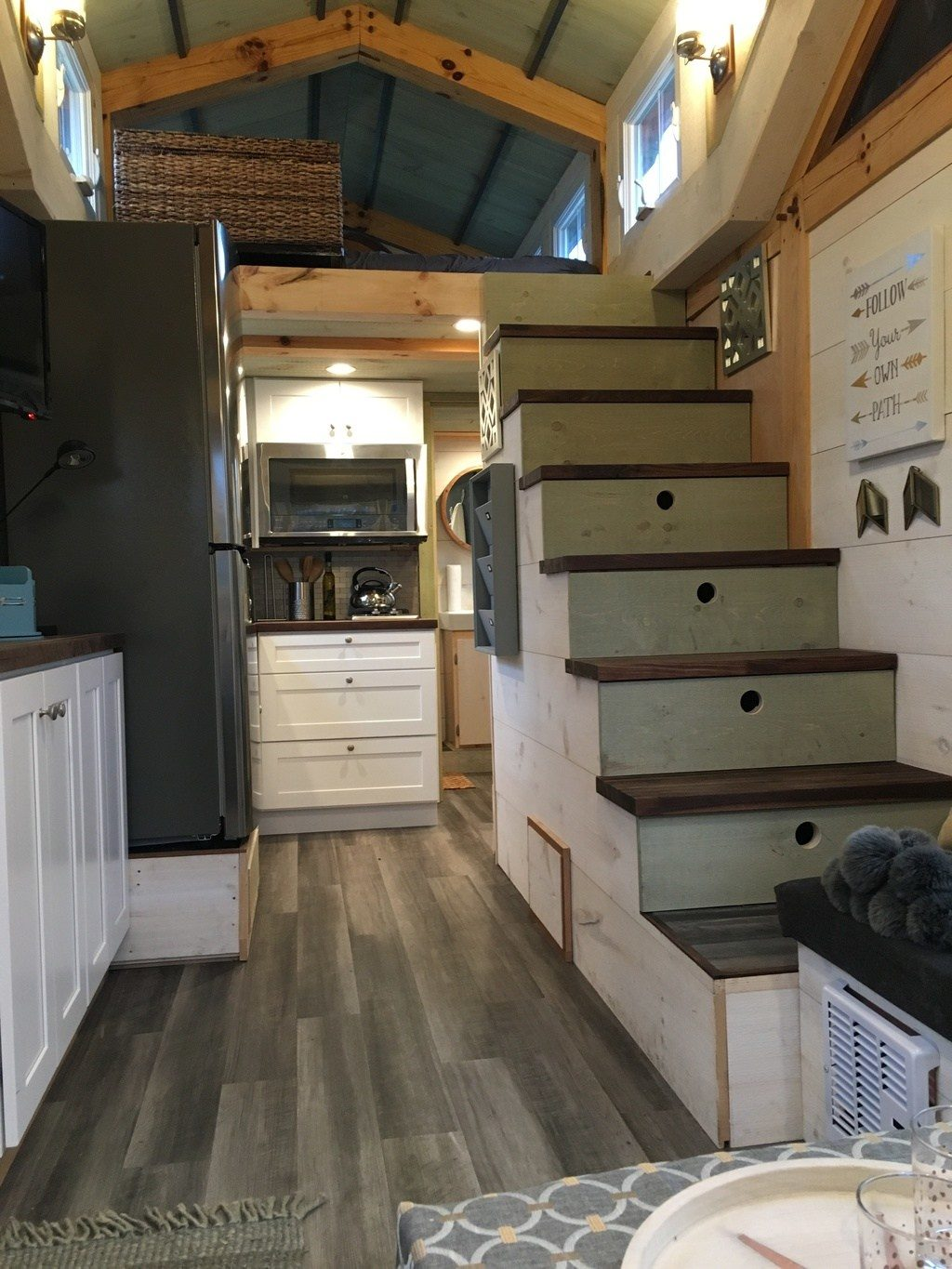 Tiny House Town The Creek Cottage 320 Sq Ft