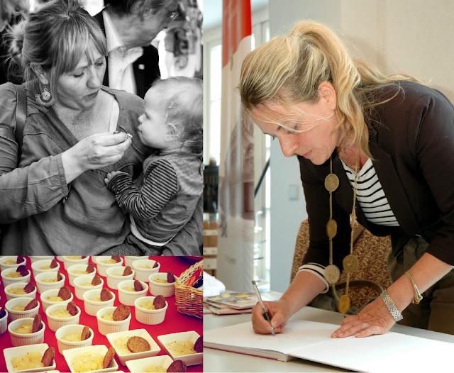 """Signierstunde: Katja Mailahn signiert ihr Kochbuch """"raffiniert rheinhessisch - im Glas und auf dem Teller"""". #Rheinhessen #Kochbuch #MoToLogie #Mailahn #raffiniertrheinhessisch"""