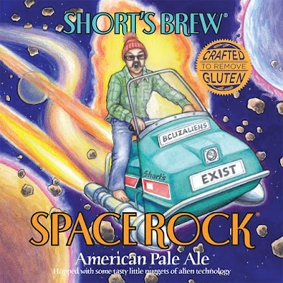 Space Rock beer label