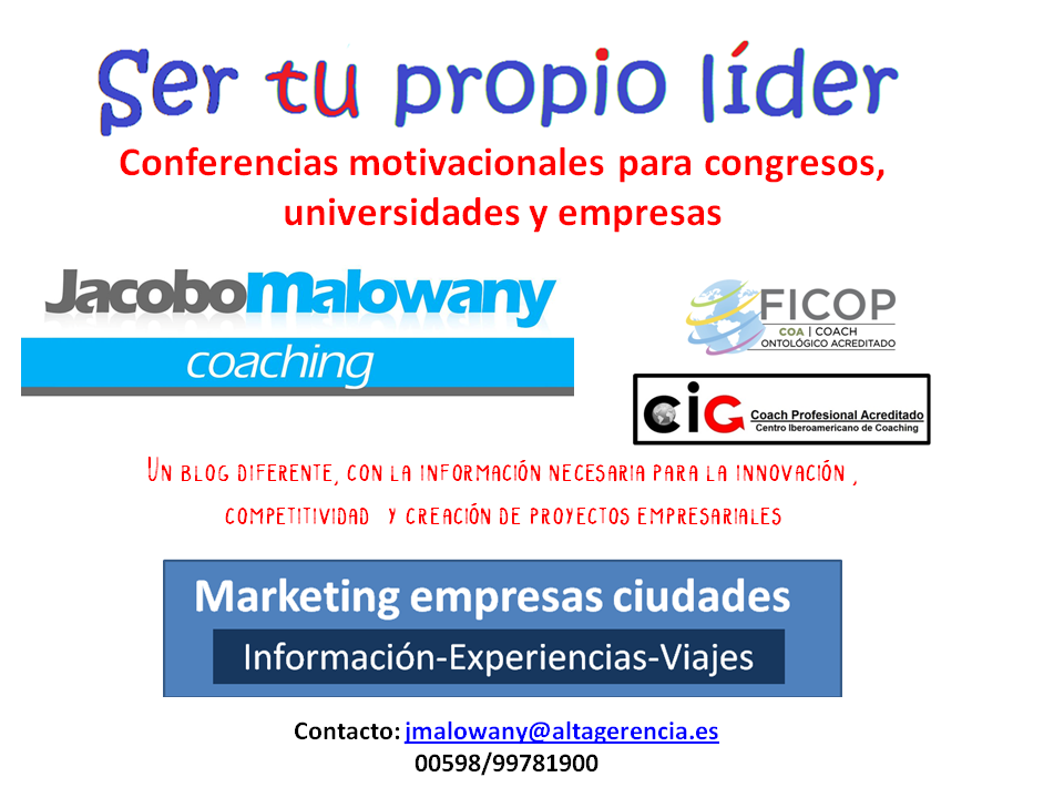 Marketing: Ideas, noticias y estrategias para crear Empresas y Ciudades innovadoras