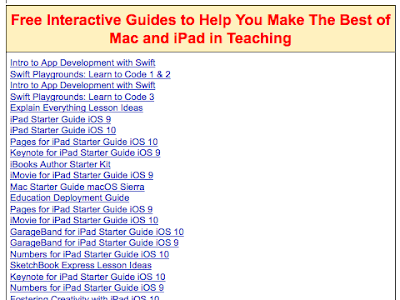 Educational Apple Resources for Teachers and Students