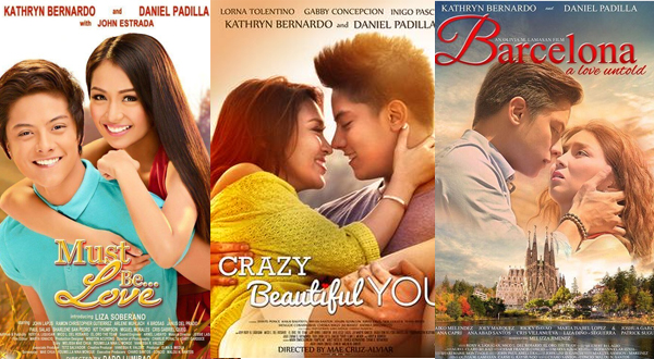 Three of KathNiel movies will be turned into novels