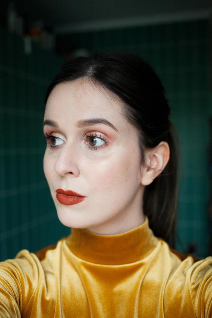 Beauty: Lime Crime Pumpkin & Squash Velvetine review