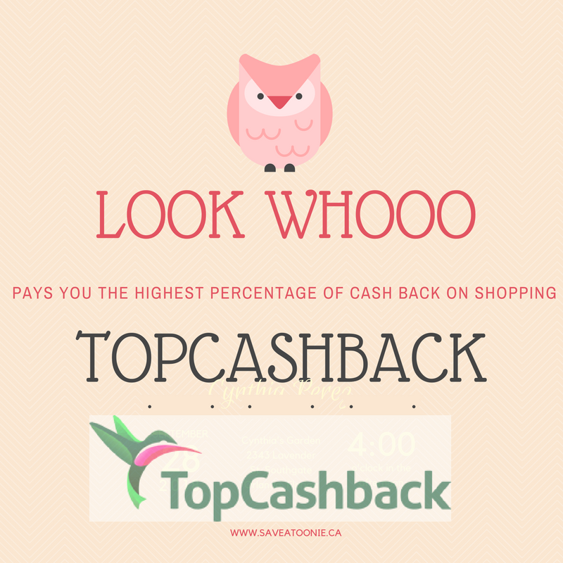 Get Cash Back for Shopping at Toys R Us & Top Canadian Retailers