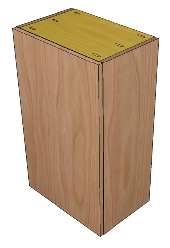 Cabinet Top/Bottom Dimensions