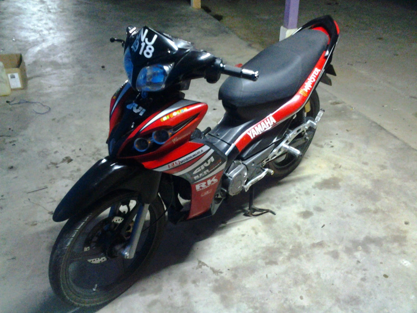 Tuned By Alang Motor Yamaha Lagenda 115zr Cam Merah In Action