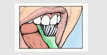 gosok gigi ke atas dan bawah