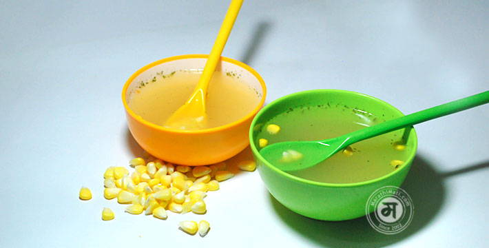 स्वीट कॉर्न सूप - पाककला | Sweet Corn Soup - Recipe